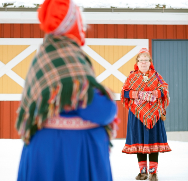 Sami women, Lapland, Finland. Trips to Lapland, tours of Finnish Lapland – Hit The Road Travel