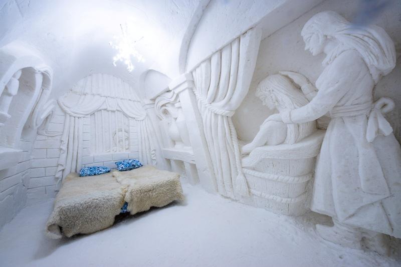 Snow Castle, Kemi, Finland. Santa Claus trips, Rovaniemi tours
