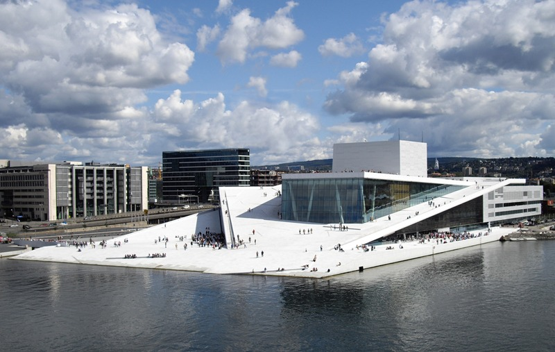 Oslo Opera, Norway. Oslo tours, group trips to Oslo, conferences in Oslo – Hit The Road Travel