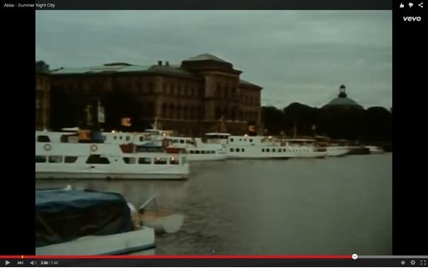Abba - 'Summer Night City'. Zwiedzanie Sztokholmu śladami zespołu ABBA