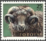 A sheep on a postage stamp - The Faroe Islands -Hit The Road Travel