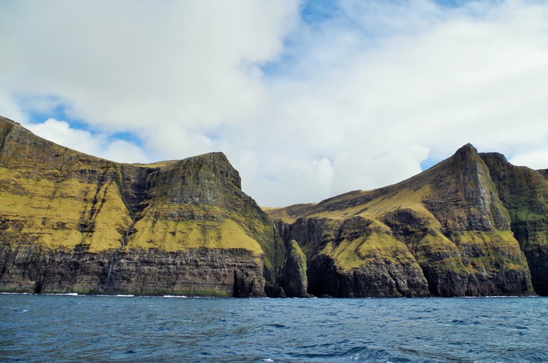 The underwater caves near Vestmanna, the Streymoy. The Faroes - Hit The Road Travel