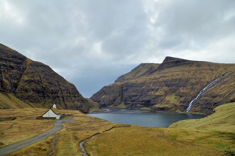 Saksun, the Streymoy Island. The Faroes - Hit The Road Travel