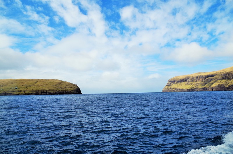 The strait between the Streymoy and Vágar Islands. The Faroes - Hit The Road Travel