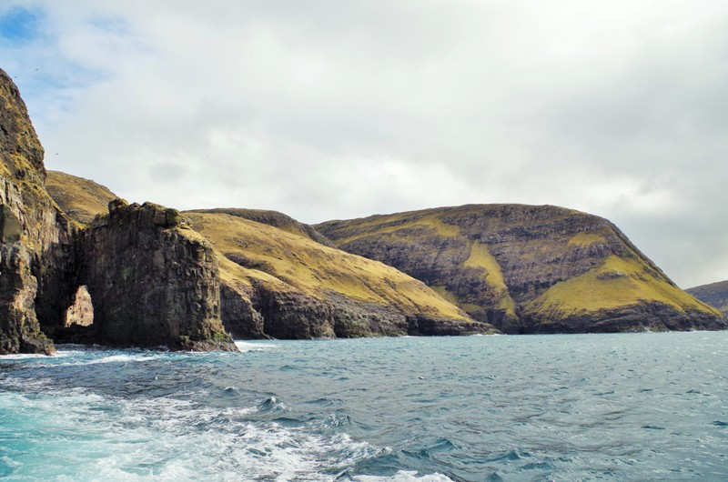 The underwater caves near Vestmanna, the Streymoy. The Faroe Islands - Hit The Road Travel